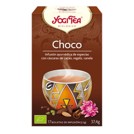 YOGI TEA CHOCOLATE BOLSITA 15 bl BIO