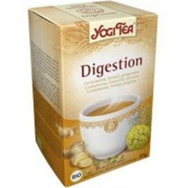 YOGUI TEA  DIGESTION 15 bl 82,5% BIO