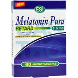MELATONIN PURA RETARD 1.9 mg 60 MICROTABS
