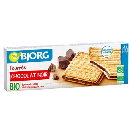 GALLETAS RELLENAS DE CHOCOLATE BIO 150 GRS