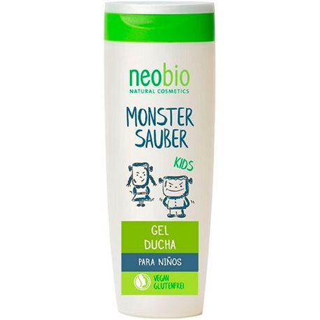 GEL DUCHA INFANTIL MONSTER SAUBER NEOBIO 250 ML